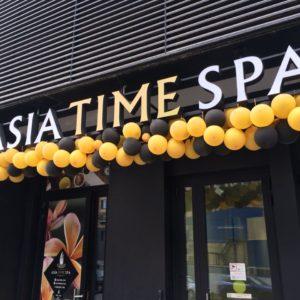 Вывеска ASIA TIME SPA