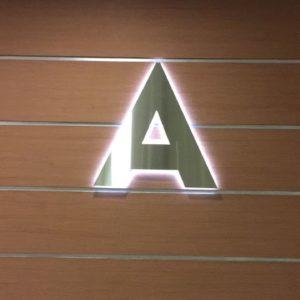 Буквы из нержавеющей стали/ буквы из металла